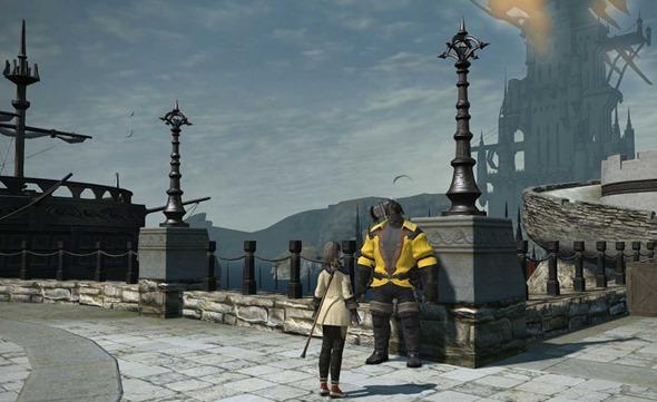 イエロージャケットのおじさんに話しかけて、港の獣たちを受注。